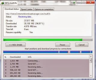 transferir vários arquivos ao mesmo tempo