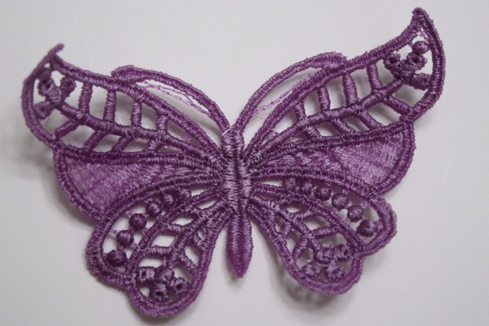 How to Machine Embroider Lace Designs - Sewing - Learn How to Sew