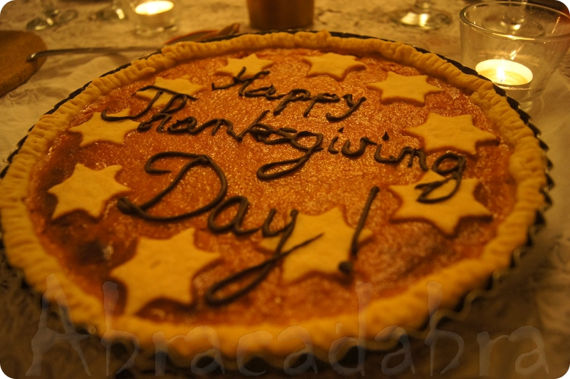 Gateau traditionnel thanksgiving