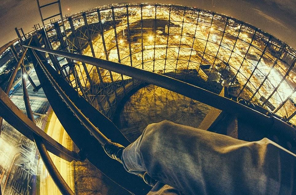 صورة من لندن من أعلي عين لندن