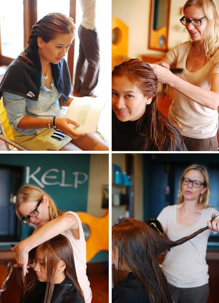 Kelp Hairdressing Bondi Beach Auburn Blonde Hair