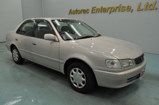2000 Toyota Corolla Xe Saloon For Malawi Japanese Vehicles To The World