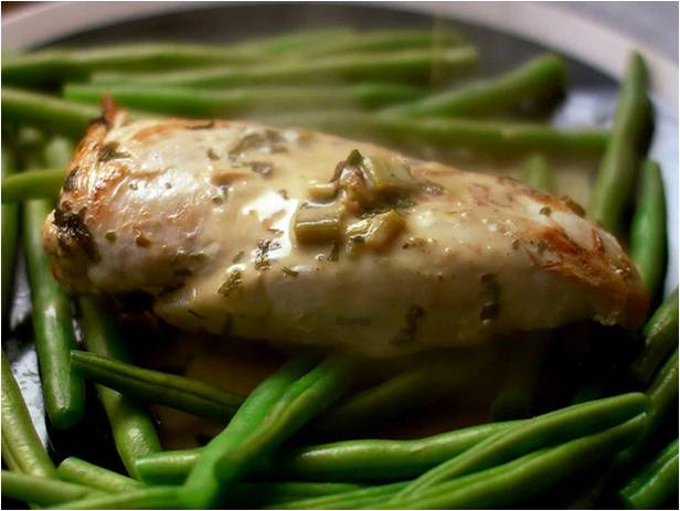 Babaduck: Chicken Breasts in a Tarragon, Cream & White Wine Sauce*