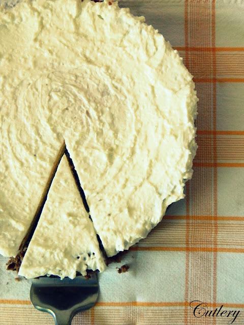 Kokosovo limetkový cheesecake