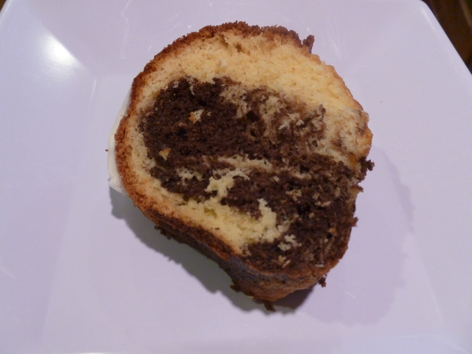Enjoy Indian Food Coconut Marble Cake