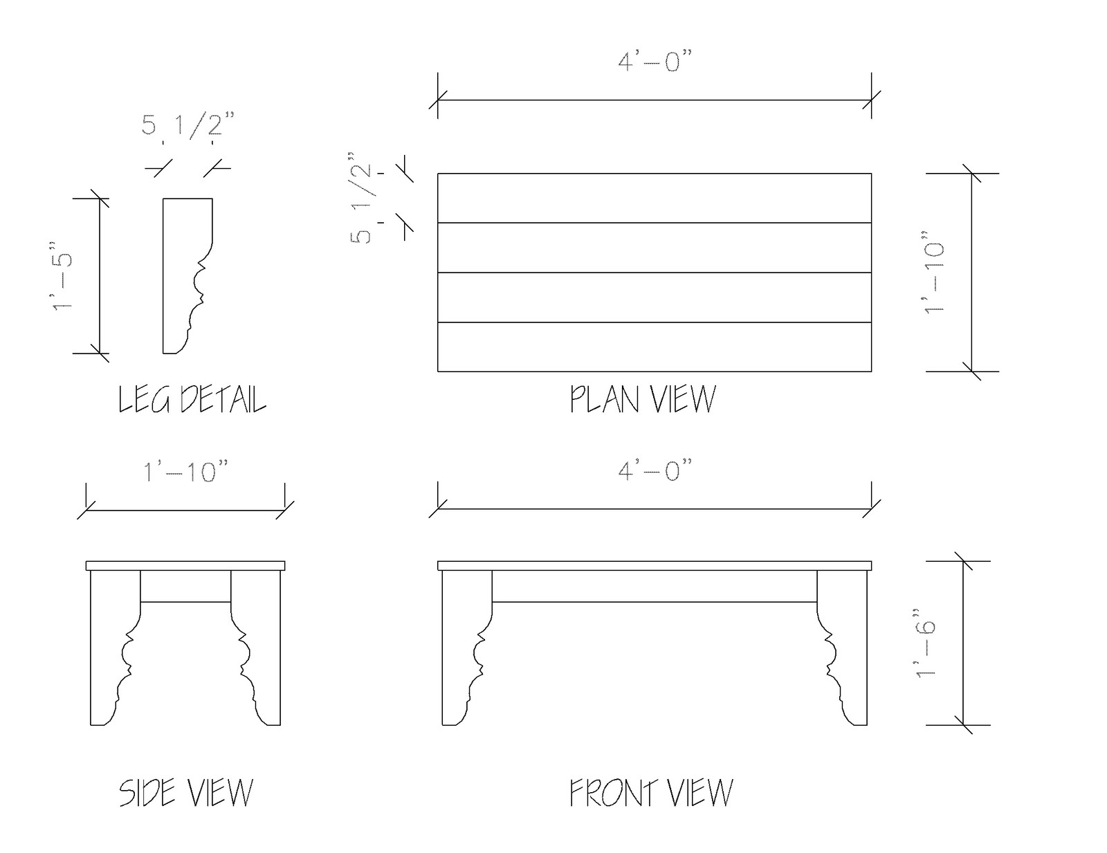 Woodwork coffee table dimensions pdf plans for 12 top table size