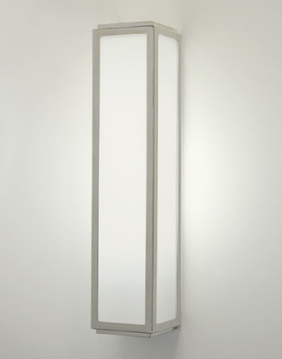 The Astro Mashiko Bathroom Wall Light - above the mirror fluorescent light