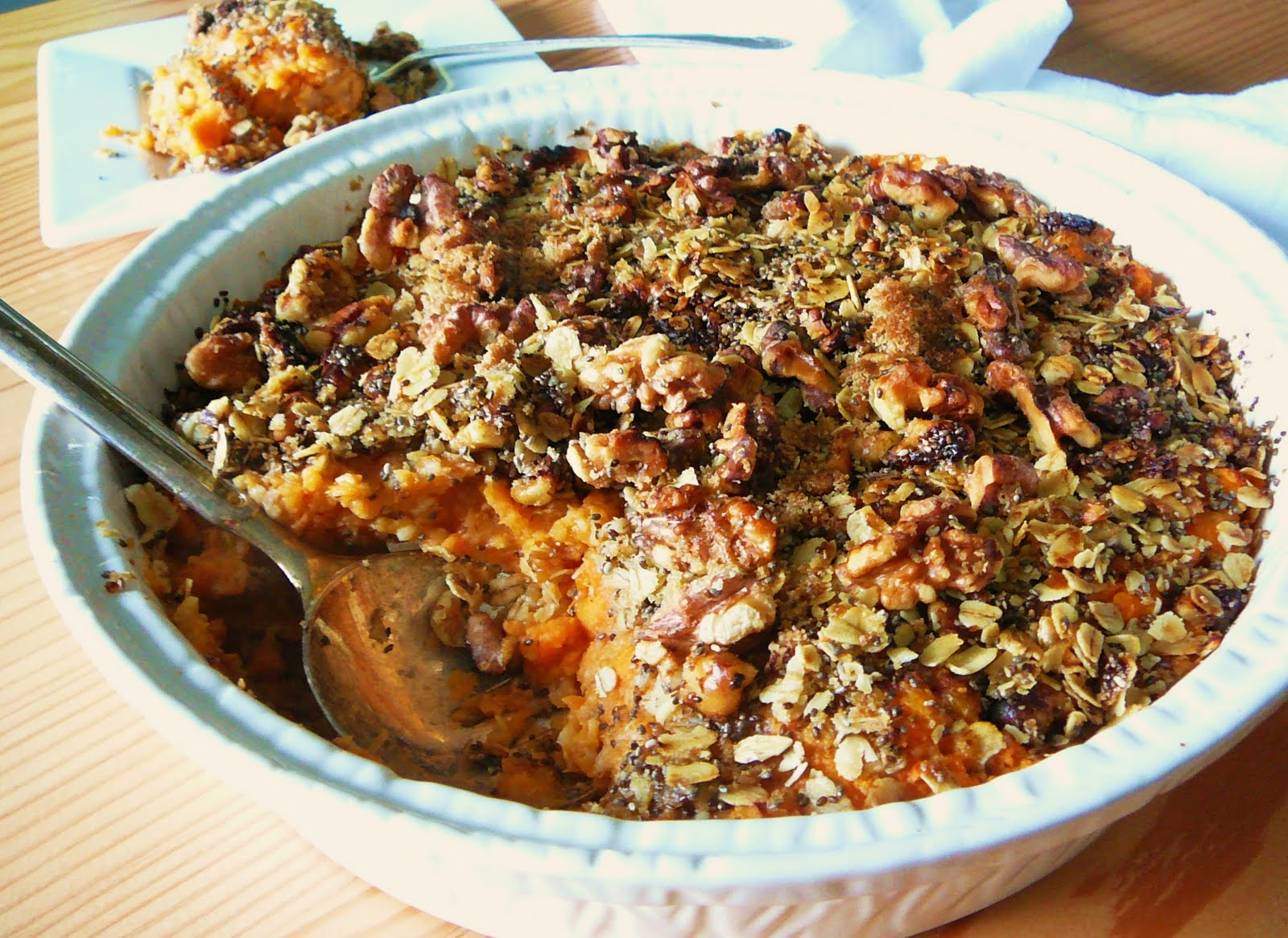Eighty Twenty: 80--- Yam & Oat Breakfast Casserole