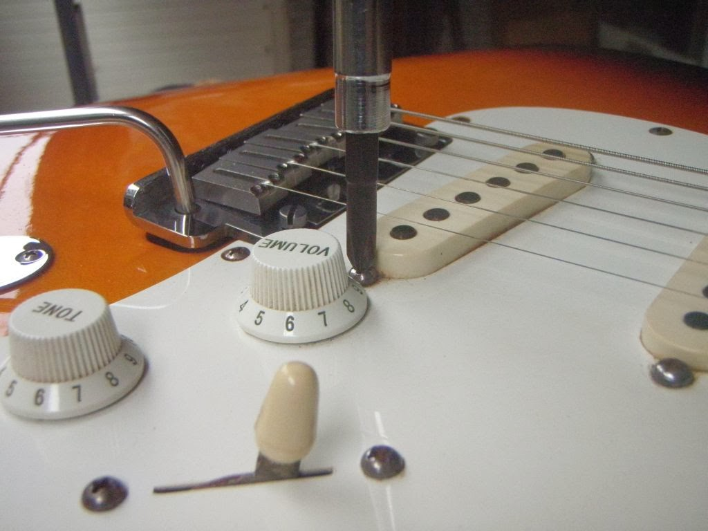 Fender Stratocaster Pickup Height Adjustment And Specifications Mim Telecaster Wiring Diagram Scn Diy Strat Other Guitar Audio Projects