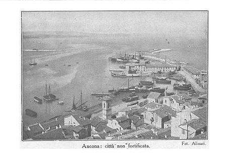 Ancona la storia il bombardamento di ancona 24 maggio for 2 piani piano cabina storia