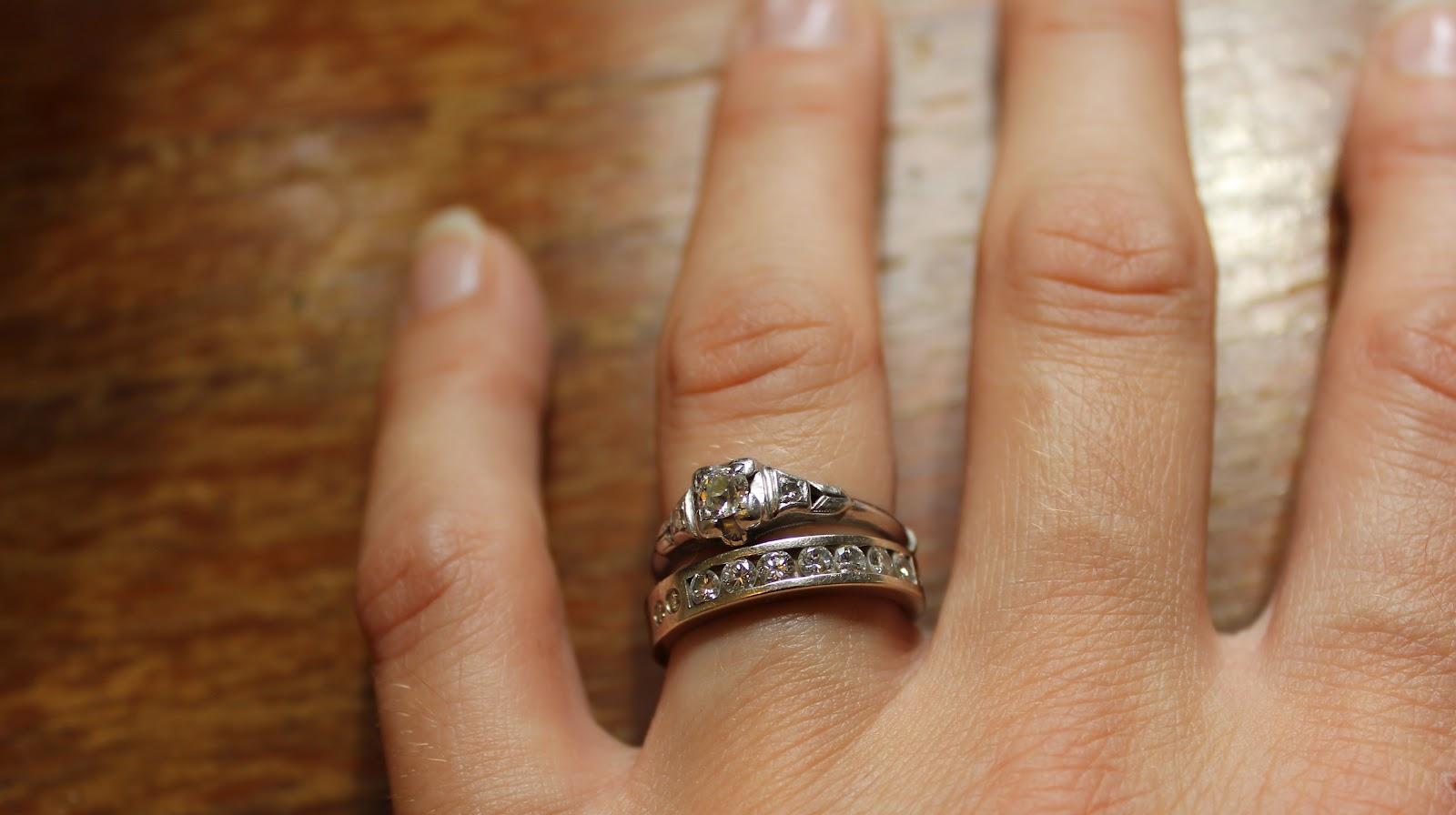 Nest Essentials Wedding Engagement Ring
