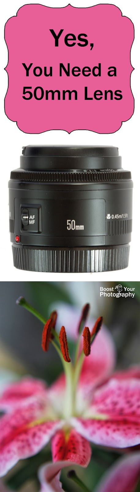 Yes, You Need a 50mm Lens | Boost Your Photography
