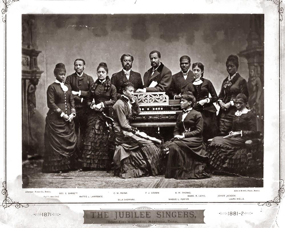 Black History Month: Fisk Jubilee Singers