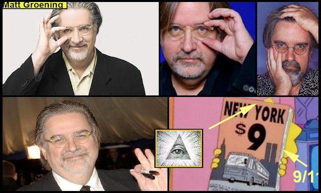 Image result for matt groening is illuminati