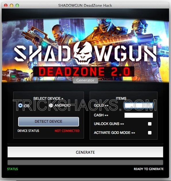 Shadowgun Deadzone Hack Cheats Tool 2013