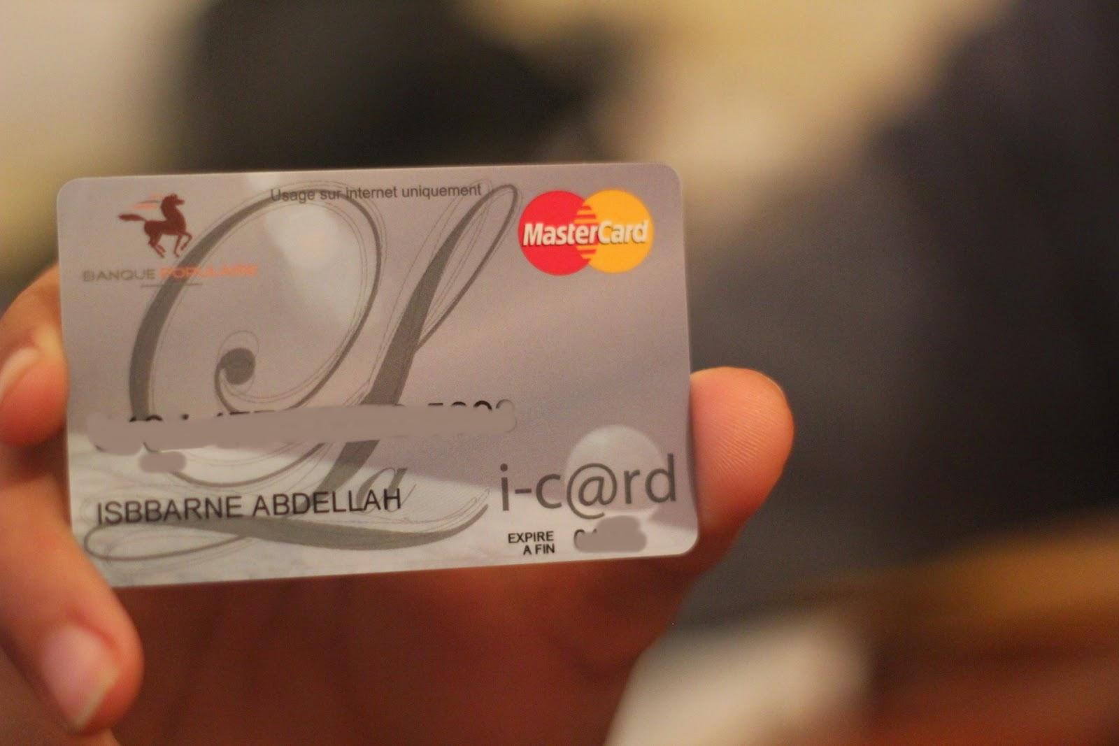 شرح شامل حول البنك الشعبي وربط بطاقة I-card مع الباي بال 2015