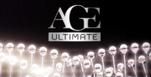 age ultimate less cosmetiques logo