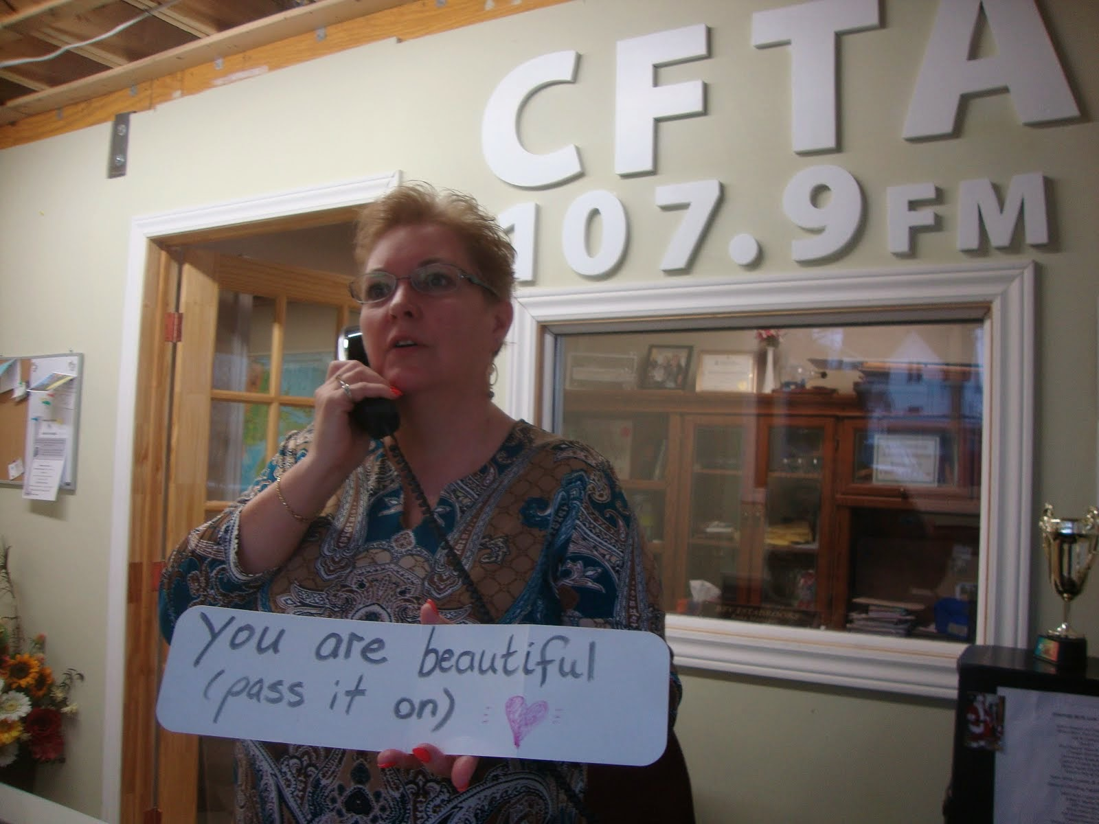 you are beautiful - pass it on xx