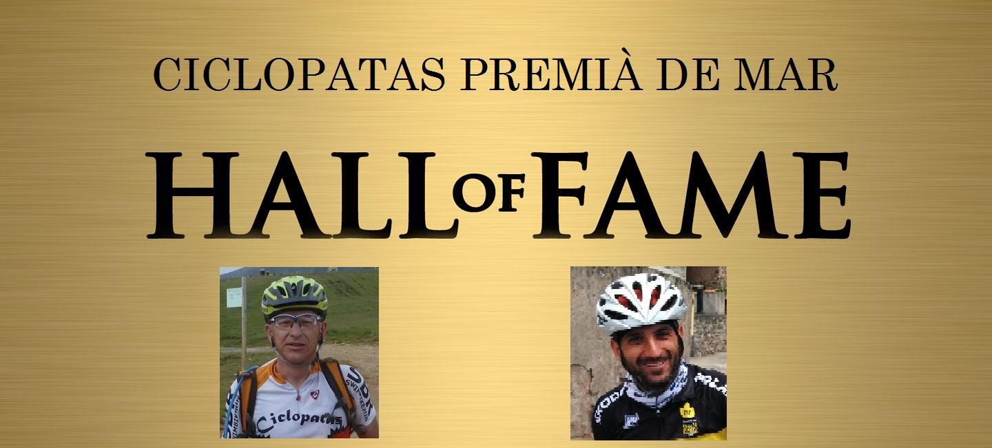 Ciclopatas Hall of Fame
