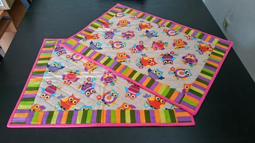 Manteles patchwork individuales