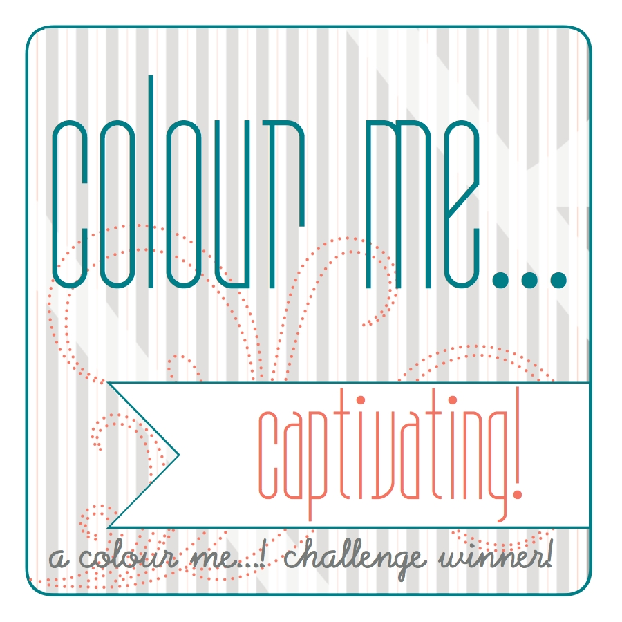 Winner at Colour Me......challenge #82