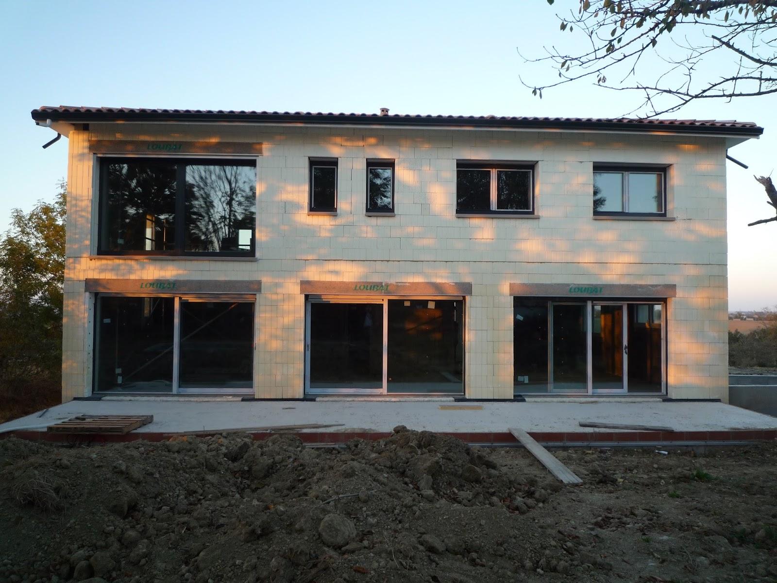 notre maison en haute garonne pose des menuiseries 3 3 les baies vitr es. Black Bedroom Furniture Sets. Home Design Ideas