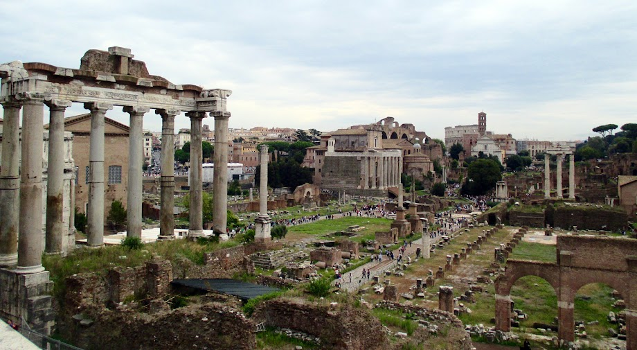 The Forum, from the Capitoline Hill