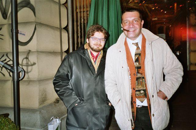 Luca Bagatin e Andrea G. Pinketts (aprile 2004)