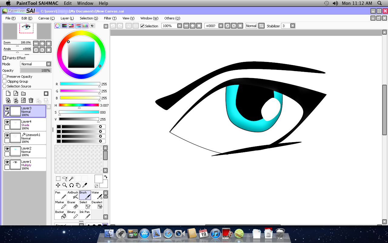 Paint Tool Sai Wintab