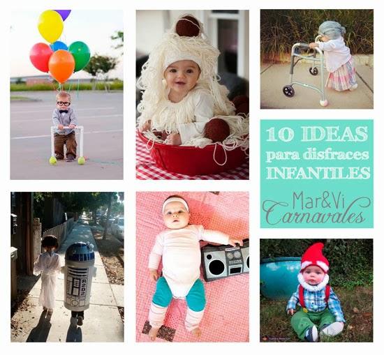 10 ideas para disfraces infantiles