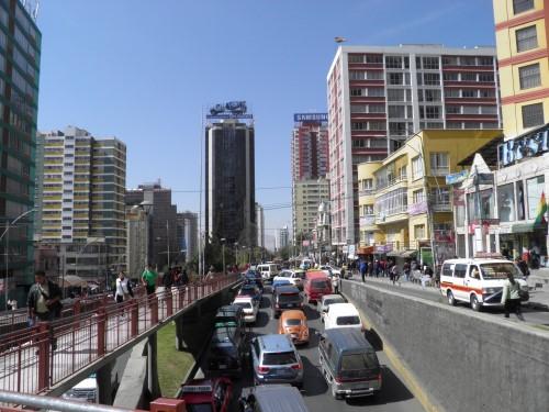 Postales de la ciudad de La Paz
