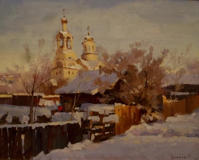 Российский художник. Роман Биляев