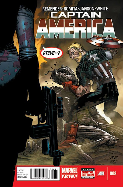 Captain America #08 (Marvel Now) Comics gratis descarga español