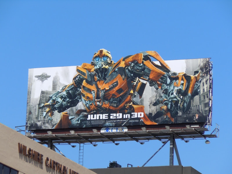 Bumblebee Transformers Dark of the Moon billboard