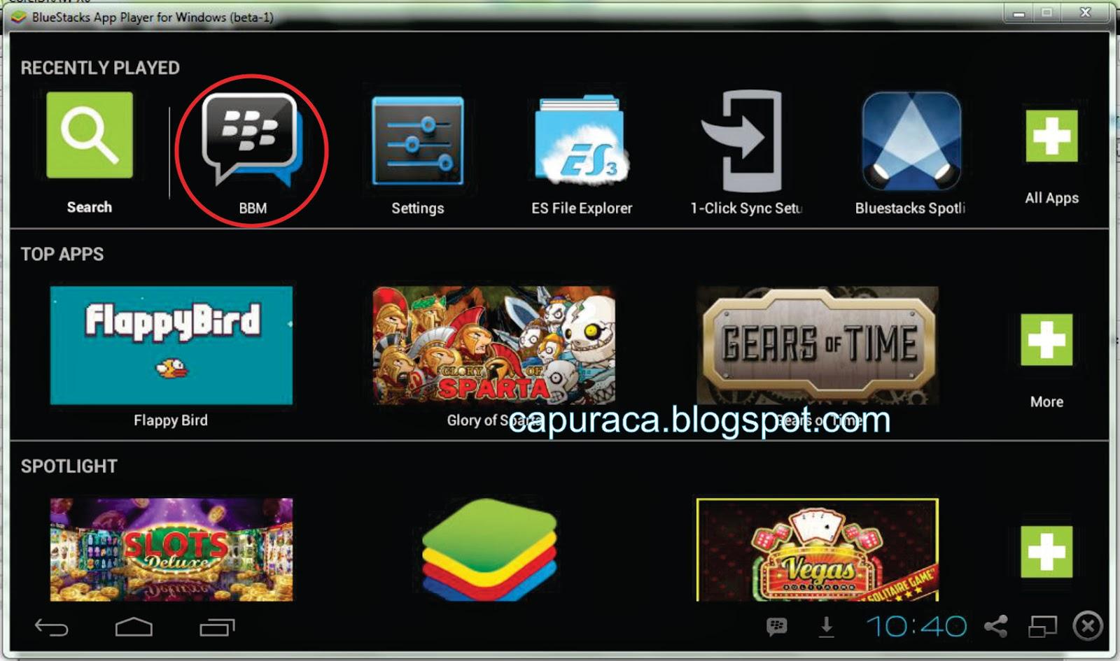 Coba Lihat Bbm Di Pc Laptop Dengan Bluestacks Sebagai Referensi