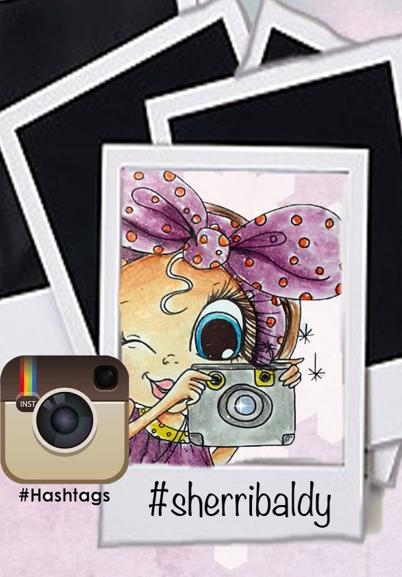 Instagram hashtag or tag Sherri at sherri.baldystamps