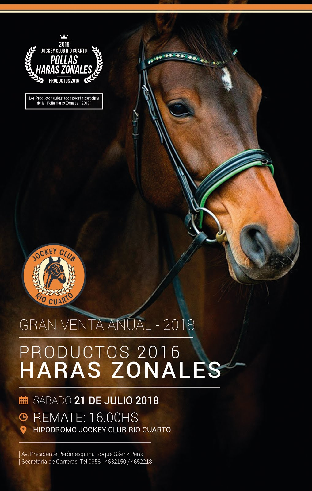 DESCARGA EL CATALOGO - GRAN VENTA ANUAL DE PRODUCTOS 2018 - PRODUCTOS HARAS ZONALES 2016