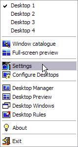 小巧實用的虛擬桌面工具,Dexpot V1.6.9.2285 多國語言綠色免安裝版!