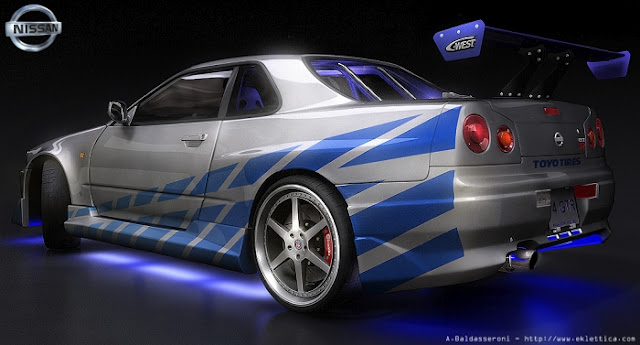 Automobile Nissan Skyline Gtr R34 Wallpaper
