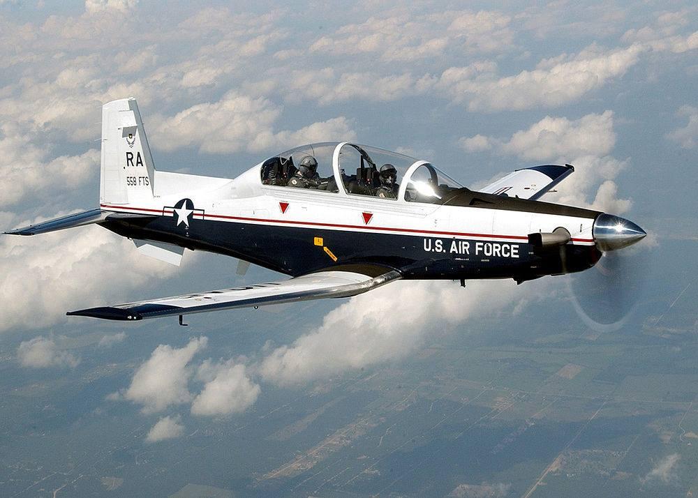 T-6A AETC Training Aircraft