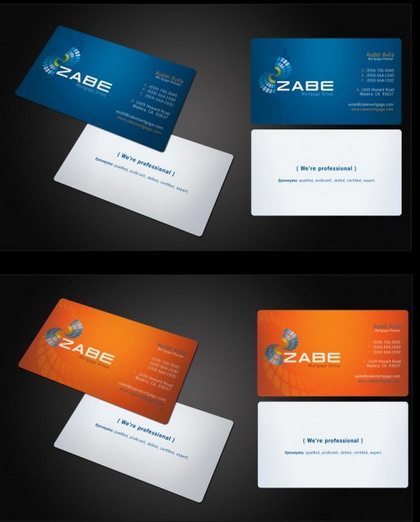 14) Business Card