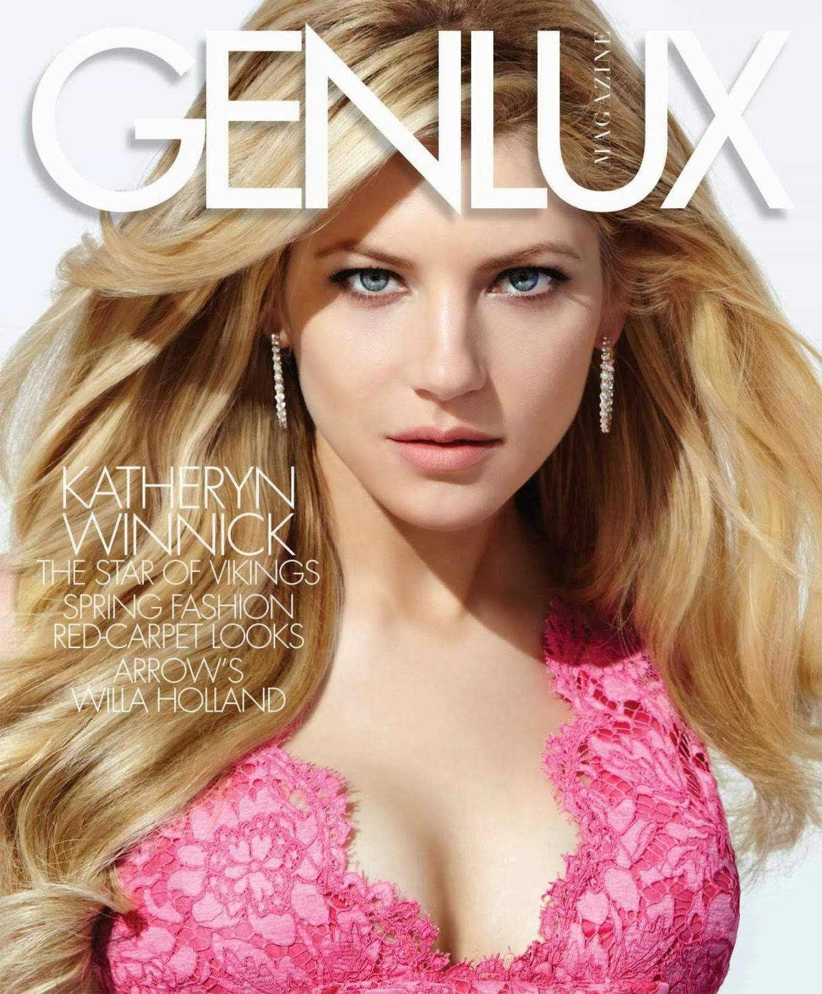 Katheryn Winnick HQ Pictures Genlux Magazine Photoshoot Spring 2014