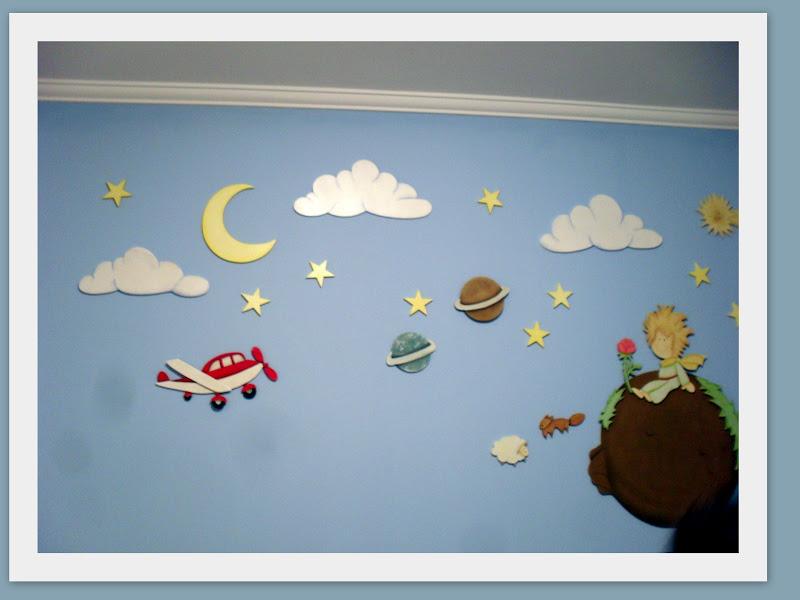 Quarto De Bebe Do Pequeno Principe ~   do quarto com o tema do pequeno principe ai v?o algumas id?ias pras