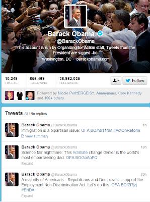 obama Twitter hackeado