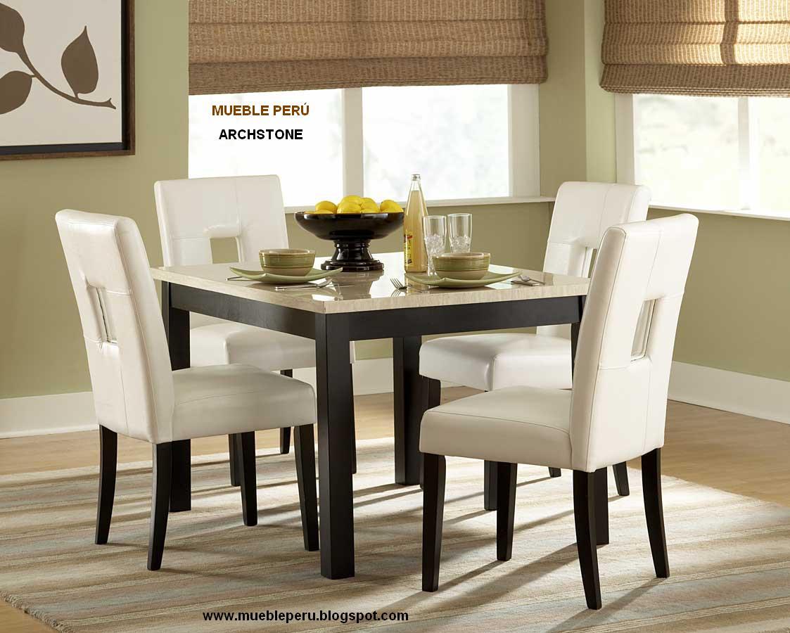 Comedores muebles per julio 2011 for O significado de dining room