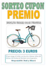 SORTEO PREMIO: BICICLETA