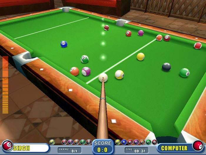 Billiards Game Software - Free Download Billiards Game
