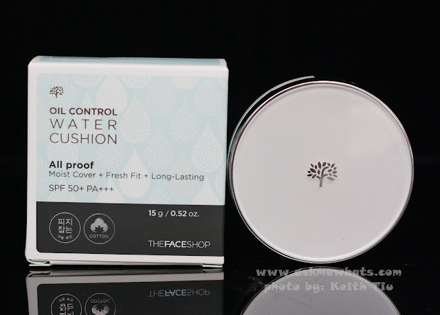 A photo of The Face Shop Oil Control Water Cushion
