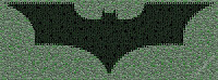 Logo de Batman 'estilo Matrix'