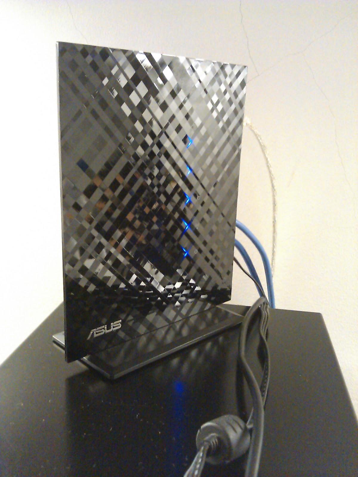 The Budget Geek ASUS RT N15U Black Diamond Router